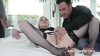 Private.com - Horny maid in a threeway
