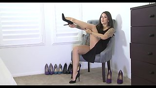 joi - jerk off to my high heels