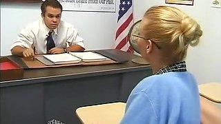 Amazing pornstar Gail Force in horny redhead adult clip