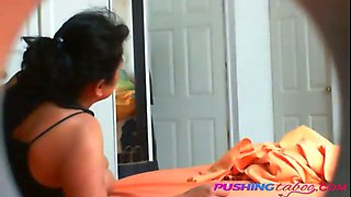 Mexican mom banged from behind