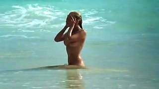 Bo Derek - young naked on a beach