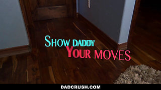 DadCrush-  Hot Daughter Fucks Step Daddy