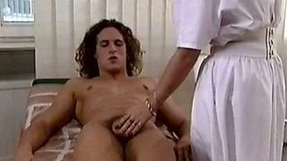 Perverted jerk got lucky to get a blowjob from a nurse