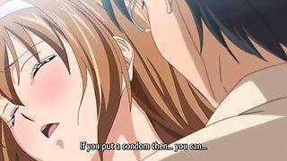 Pregnant Anime Ecchi Gives Blowjob Surprise Cumshot