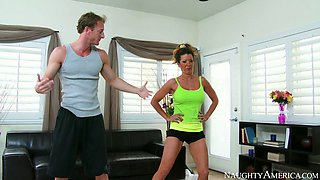 raquel devine ryan mclane in my friends hot mom
