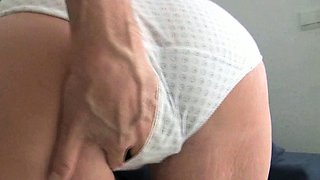 Mom's pussy begs to get fingered