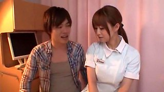 Incredible Japanese slut Akiho Yoshizawa in Fabulous Nurse, Doggy Style JAV video