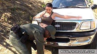 Ebony cop booty and police strapon xxx Latina Babe Fucked