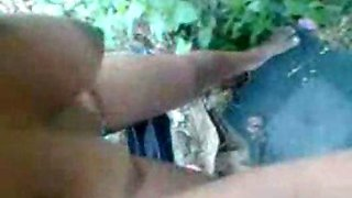 Indian aunty groupfucked outdoors very hot body