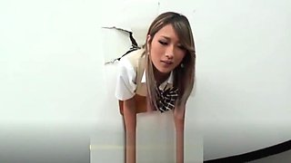 Asian student stuck on wall forced sucked and fucked Part.3 - [Earn Free Bitcoin on CRYPTO-PORN.FR]