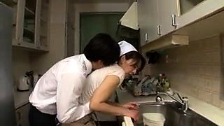Lustful Japanese housewife confesses her passion for cock