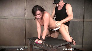 Petite teen slave girl Whitney Wright abused by mistress Dee Williams