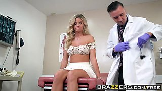 Brazzers - Doctor Adventures - A Dose Of Cock For Co-Ed Blues scene starring Jessa Rhodes