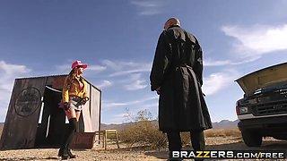 brazzers - brazzers exxtra - full service station a xxx paro