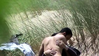 Pretty Indian girl has sex with her boyfriend on the beach