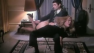 Magnificent and elegant blonde woman wants to be spanked