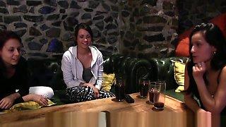 Delicious European Lesbians Seducing Pussies