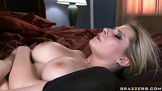Busty Trimmed Pussy Blonde Madison Ivy Hardcore Sex On Couch!