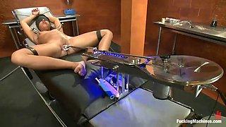 drilldo and fucking machines making alexa jaymes cum many times