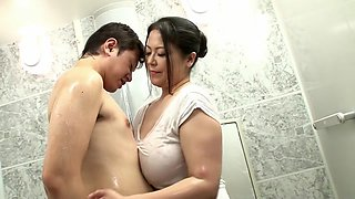 Horny Japanese girl in Amazing Mature, HD JAV video