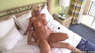 caught naked in the bathroom by her stepson