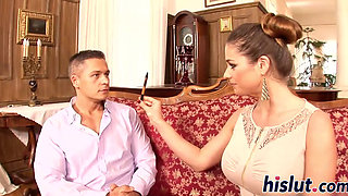 Cathy Heaven gets her pink slit plowed