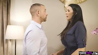 Teen alina revenge her stepmom reagan by seducing and fucking reagan&#39s fiancee