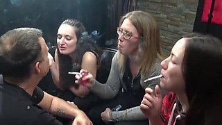 Forced Smoking - Smoking Domination