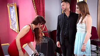 Family Traditions: Anal MILF Step-Mother Trains Son's Bride