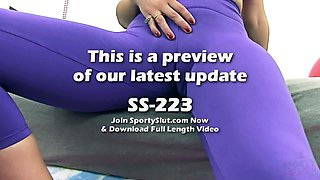 Shaved Cameltoe Perfection Big Ass Teen In Tight Spandex