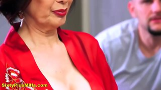 hot mature kim anh gets huge cock