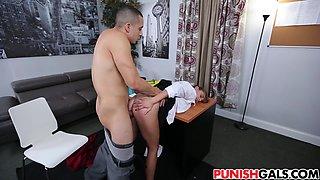 New ###ary Dakota Vixin gets punished