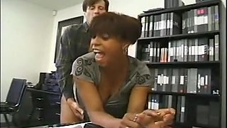 Horny Retro, Office xxx clip