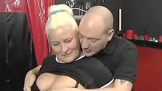 Crazy homemade MILFs, Blonde adult video