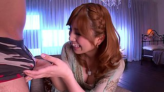 Best Japanese chick in Crazy CFNM, Blowjob JAV clip