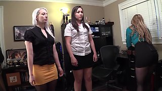 two secretaries get hypnotized