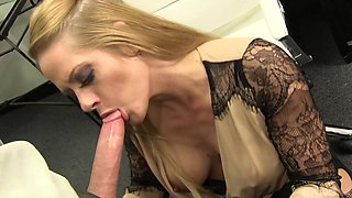 Slutty attorney Holly Heart gets pounded good after a divorce