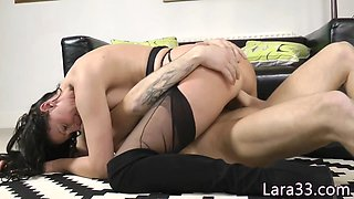 UK cougar jizzed in mouth after banging