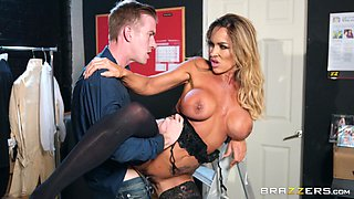Aubrey Black is an elegant MILF craving a man's huge dick