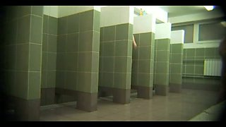 Just a rare amateur video from the public shower room