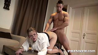 business lady dominica phoenix is satisfied by man-whore