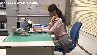 Fabulous Japanese girl Aoki Misora in Incredible POV, Secretary JAV movie