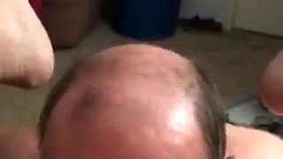another video of old man breeder eating me out