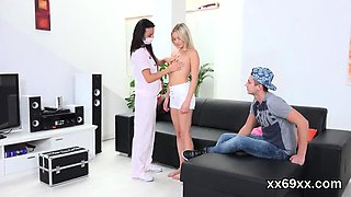 Doctor looks hymen physical and virgin nympho reaming99Egs