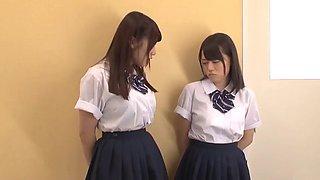 Japanese school friends