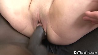 BBC Loving Wife Katlein Ria Makes Cuckold Clean up After Getting Ass Fucked