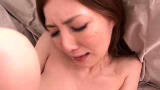 Japanese MILF secretary rammed and being facialized