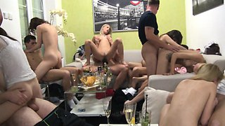 Homemade Group Swingers Orgy
