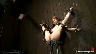 squirting slave sensi pearl gushes on her master's fingers