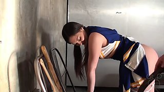 Cheerleader punished